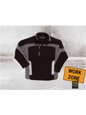 Work Zone Dreifarbige Softshelljacke Grey Zone