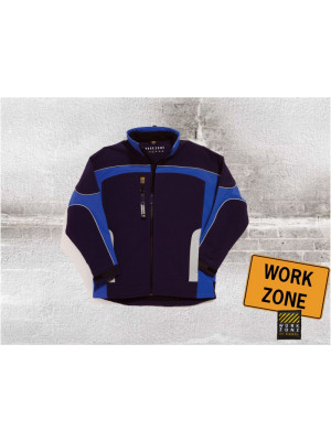 Work Zone Dreifarbige Softshelljacke Cobalt Zone