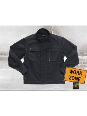Workzone Tech Zone Maurerjacke Schwarz