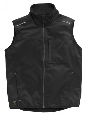 Tech Zone Softshell-Weste Schwarz