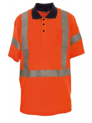 4873 11 Poloshirt orange