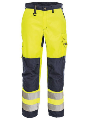 4829 44 HIVIS Damenbundhose gelb marine