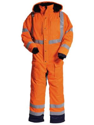 4419 44 Winteroverall orange marine