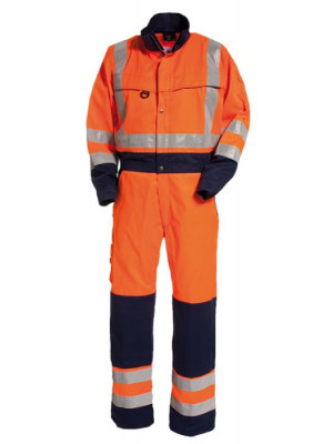 4810 44 HIVIS Overall orange marine