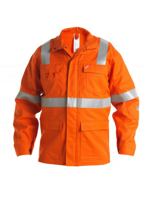 Safety+ Jacke Orange