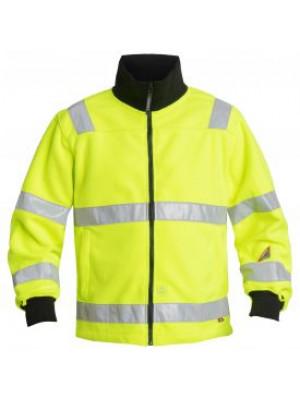 EN 471 Fleece Jacke-Neongelb