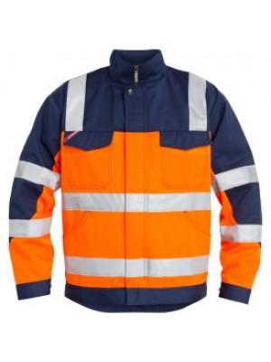 EN 20471 Bundjacke Orange/Marine