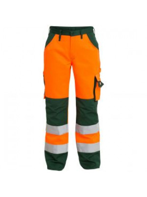 EN 20471 Bundhose Orange/Grün