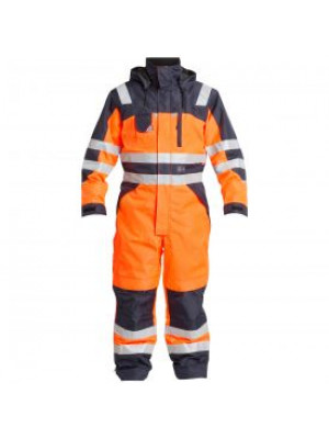 EN 471 Winter Kombination Orange/Marine