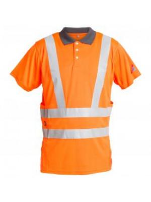 EN 471 Poloshirt Orange
