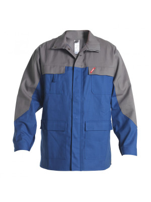 Safety+ Jacke Azur/ Grau