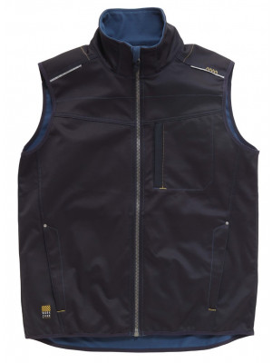 Tech Zone Softshell-Weste Midnight Blue