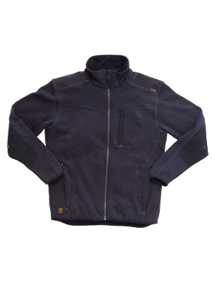Tech Zone Strickjacke Midnight Blue