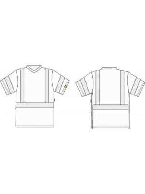 4872 11 T-Shirt orange