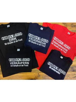 Corona T-shirt mit Wunschtext
