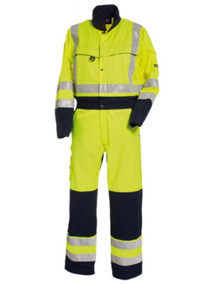4810 44 HIVIS Overall gelb marine