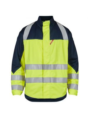 Safety+ Jacke Gelb/ Marine
