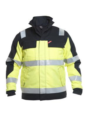 Safety+ Winterjacke EN 20471 Gelb/ Schwarz