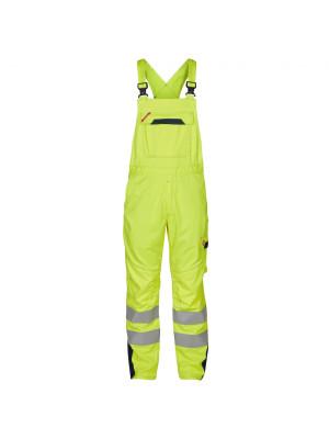 Safety+ Latzhose EN471 Gelb/ Marine