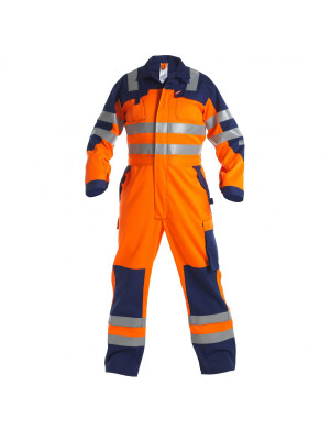 Safety+ Kombination EN 20471 Orange/ MArine