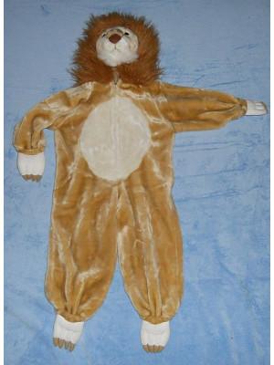 Süßes Kostüm für Karneval Gr. 98 * Löwe *