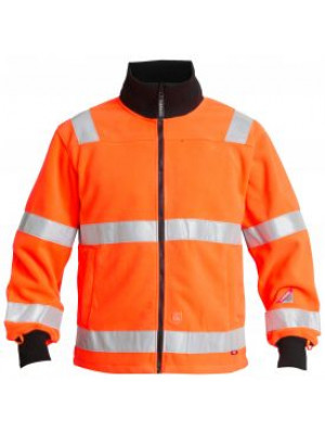 EN 471 Fleece Jacke-Orange