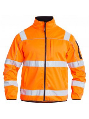 EN 20471 Softshelljacke Orange