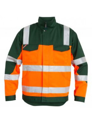 EN 20471 Bundjacke Orange/Grün
