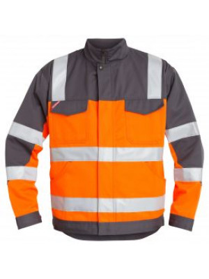 EN 20471 Bundjacke Orange/Grau