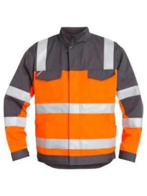 EN 20471 Bundjacke Orange/Grau