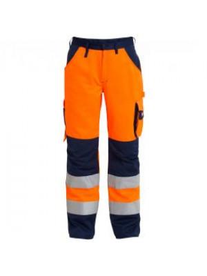 EN 20471 Bundhose Orange/Marine