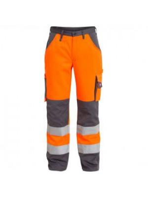 EN 20471 Bundhose Orange/grau