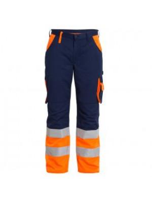 EN 20471 Bundhose Marine/Orange
