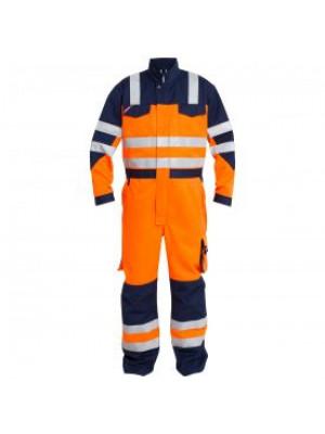 EN 20471 Kombination Orange/Marine