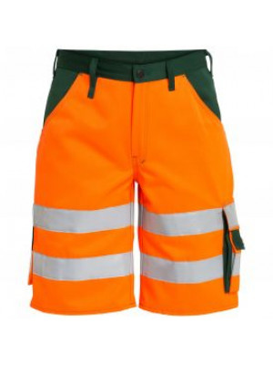 EN 20471 Shorts Orange/Grün